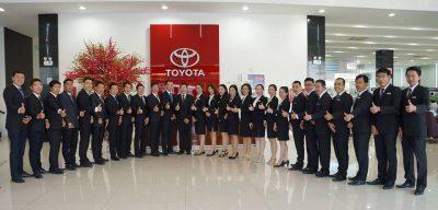 Đại lý xe Toyota Hùng Vương Phú Lâm Quận 6