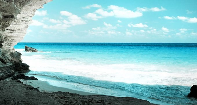 bờ biển cam ranh