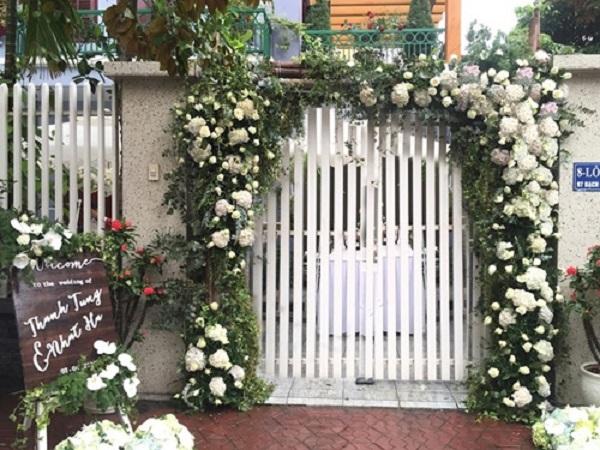 cổng hoa cưới tại hà nội
