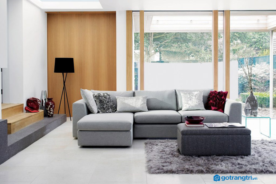 Nên chọn ghế sofa nỉ hay da?