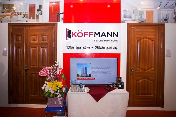 Thế giới cửa thép Koffmann – giải pháp tổng thể về cửa cho các công trình