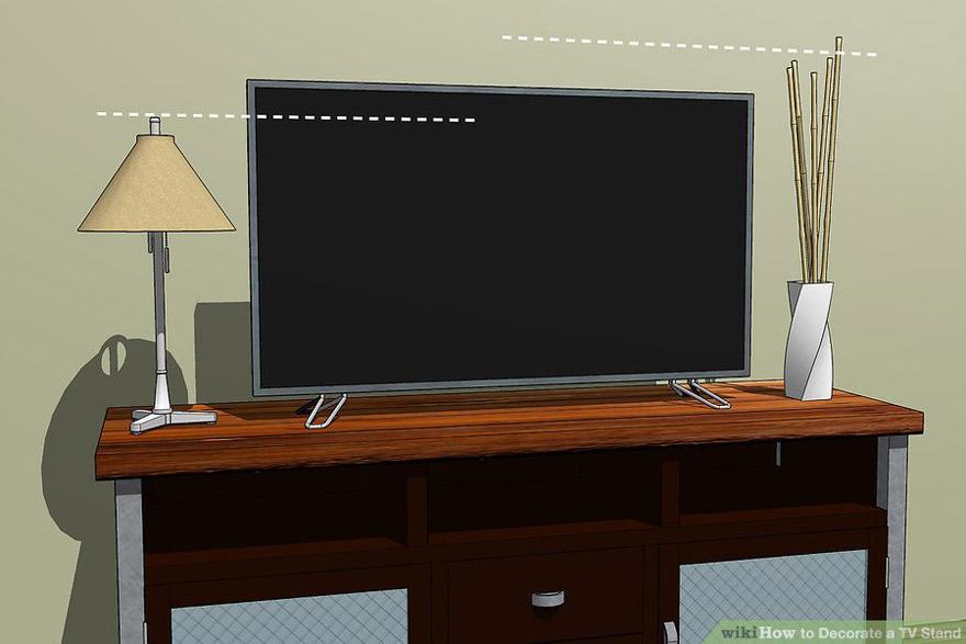 Cách trang trí cho kệ tivi phòng khách đẹp