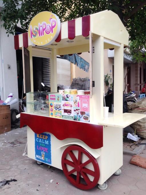 Hình ảnh về xe bán hàng tại Vinpearl Phú Quốc
