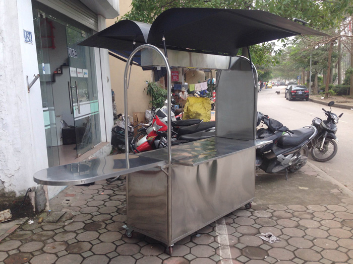xe inox coffee cart imax