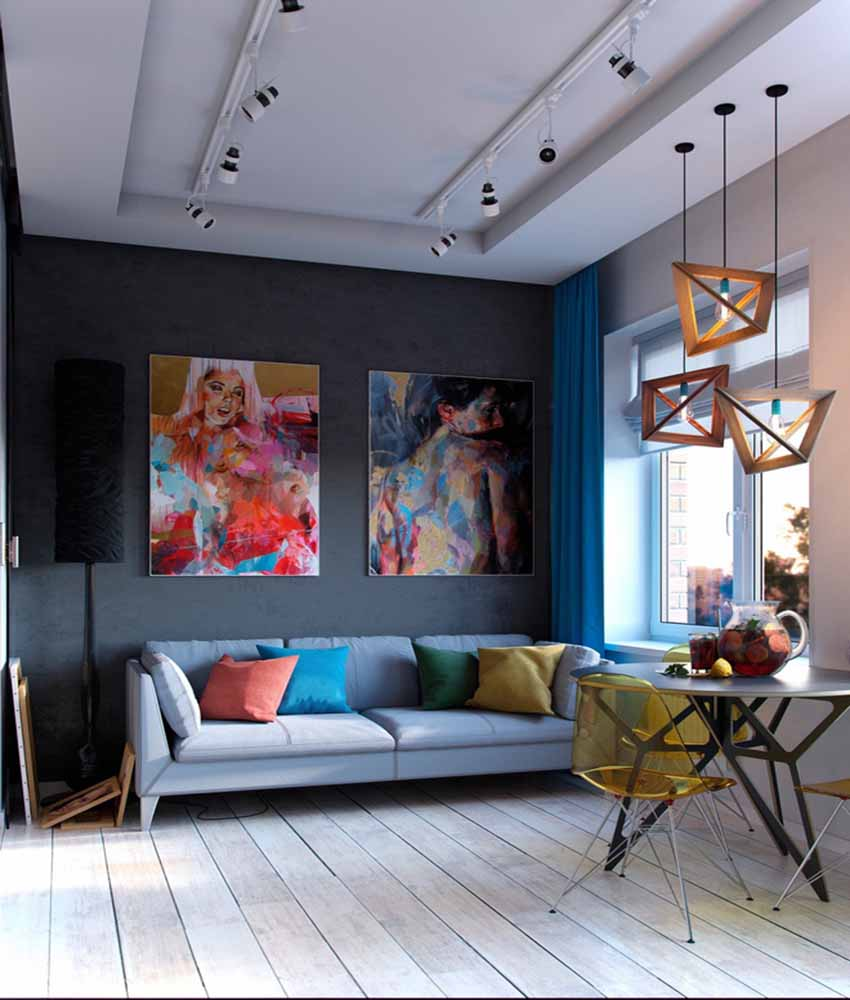 Những mẫu thiết kế nội thất thông minh đẹp hiện đại